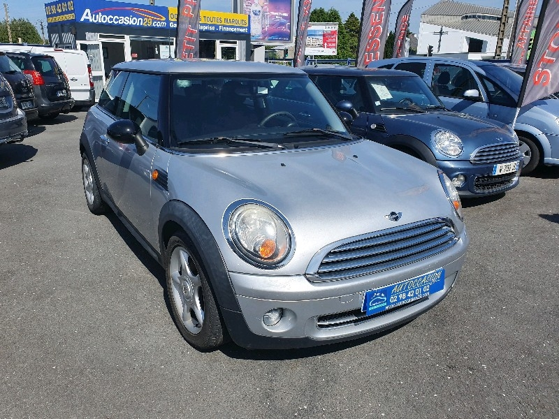 Mini MINI ONE 95CH Essence GRIS Occasion à vendre